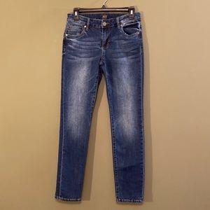 KUT from the Kloth Boyfriend denim jeans 0
